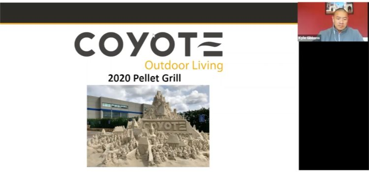Coyote Pellet Grill Webinar with Kyle Gibbons