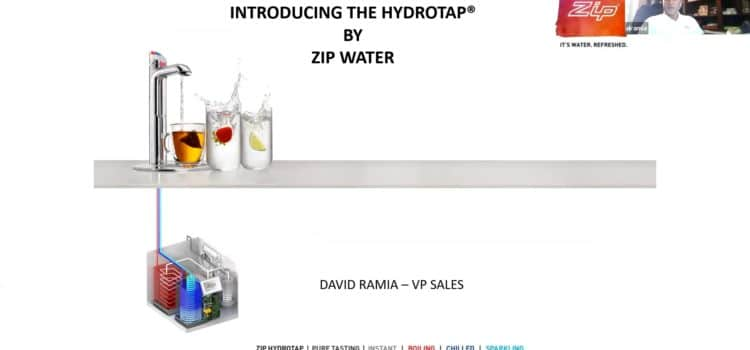 Zip Water Training on HydroTap
